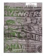 Marvel Collector Corps The Hulk vs Ultron Movie Short Sleeve T-Shirt Lar... - $16.95