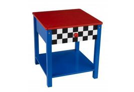 Racecar side table children's furniture boy's t... - $82.50