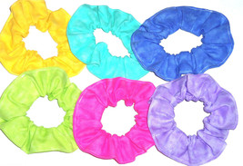 Variegated Colors Fabric Hair Scrunchie Scrunchies by Sherry - $6.92+