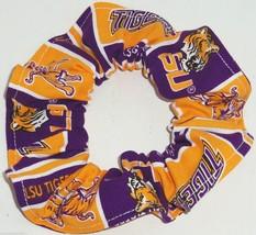 NCAA College Team Hair Scrunchies by Sherry Ponytail Holders Ties - $6.92+
