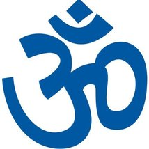 Om Ohm Symbol Wall Sticker Decal - Om Ohm Sign Silhouette Decoration - 1... - $6.95