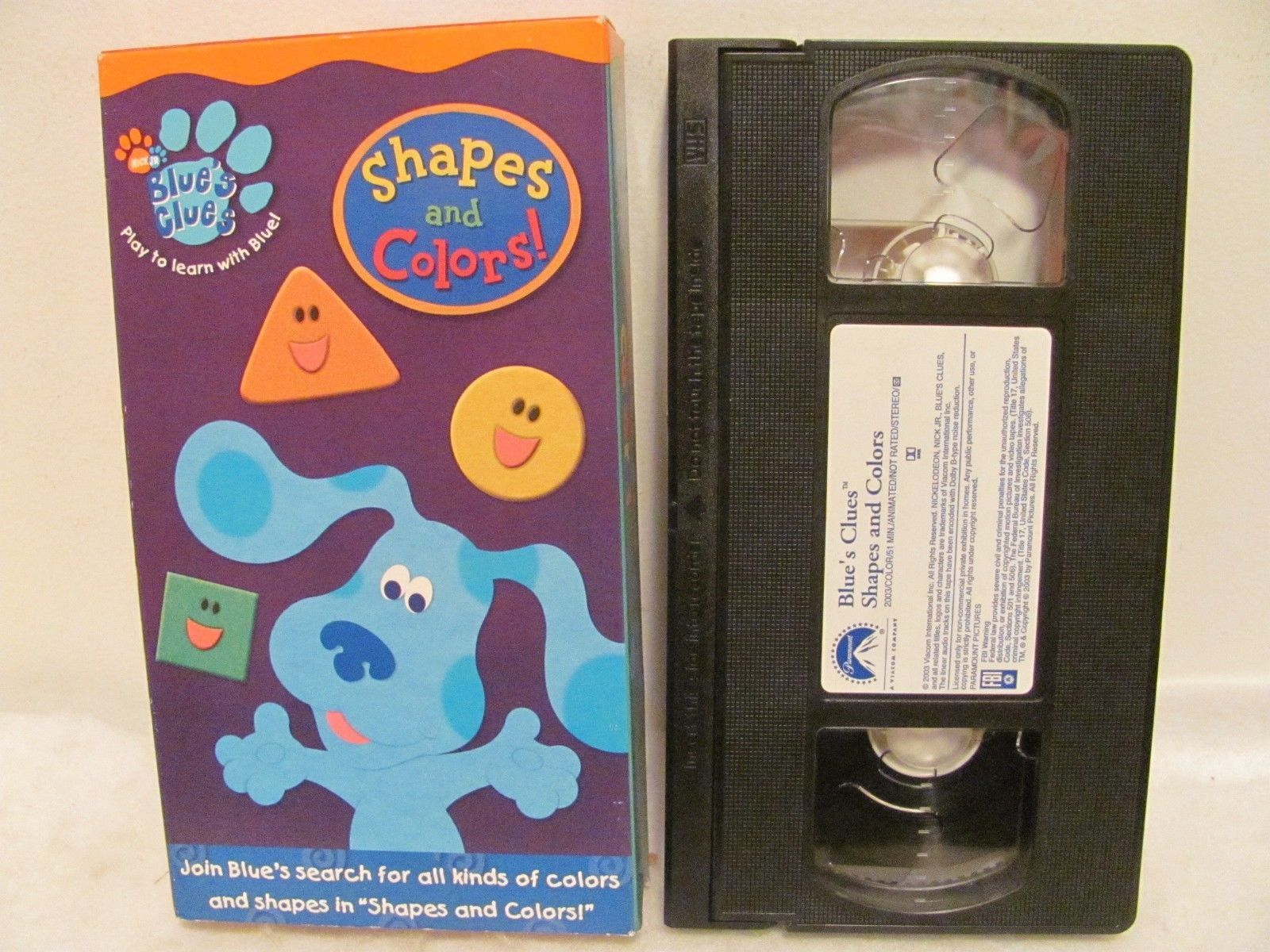 Shapes And Colors! (VHS, 2003)
