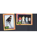 New Kids on The Block- 1989 -Big step Productions Inc. 2-trading Cards - $2.50