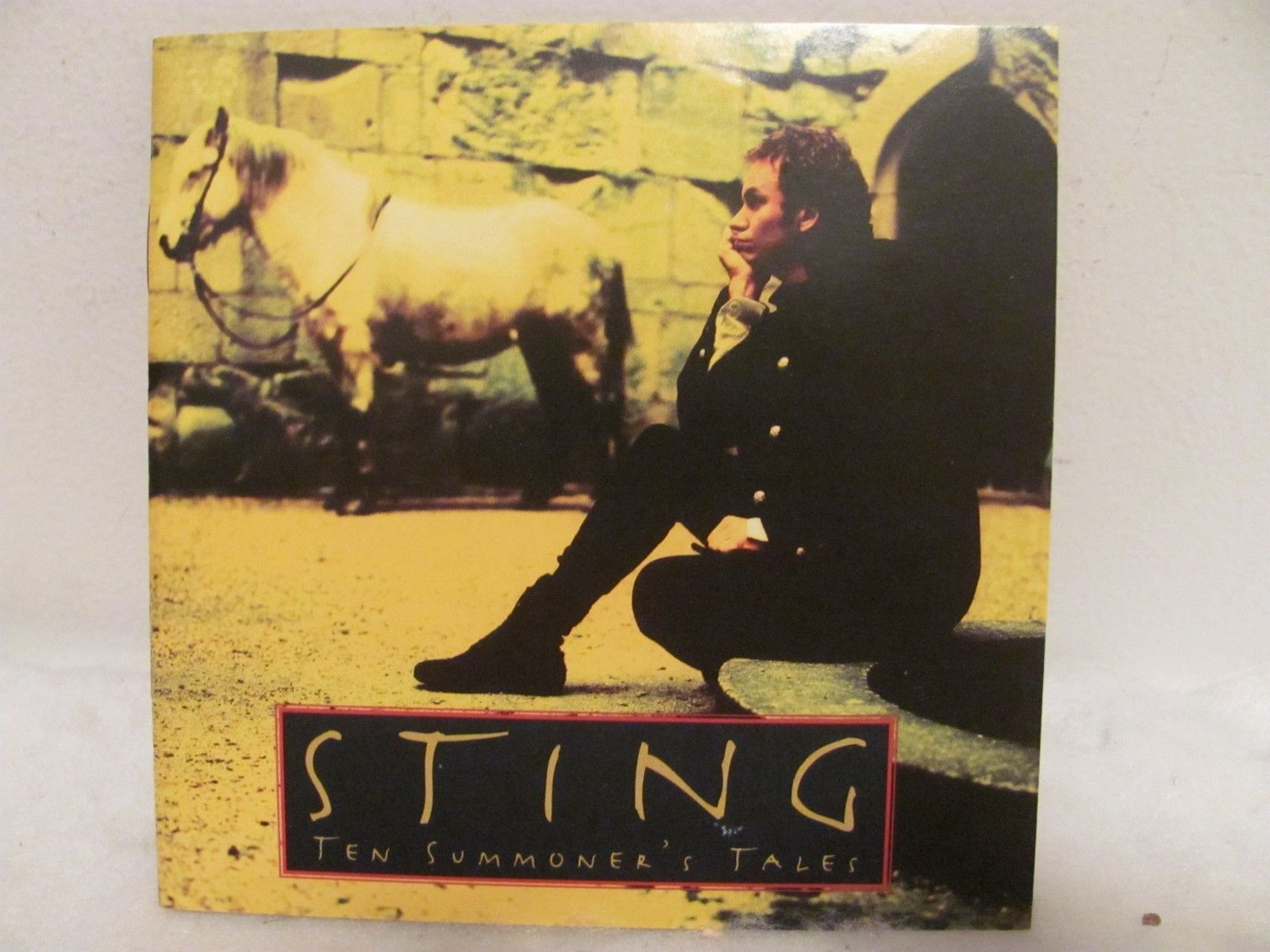 CD Ten Summoner's Tales by Sting (CD, Mar-1993, A&M (USA))