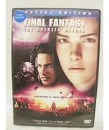 DVD Final Fantasy: The Spirits Within (DVD, 2001, 2-Disc Set, Version) - $8.99