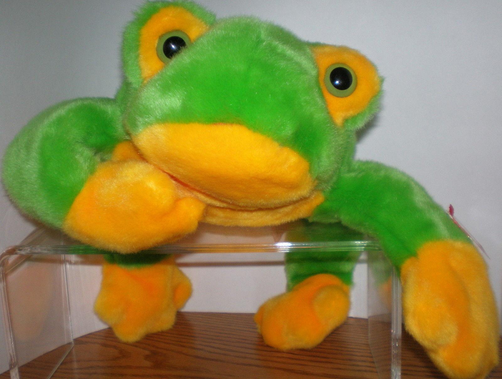 918c392ec9d kgrhqv mee6d pjchmbolif9 z5g 60 57. kgrhqv mee6d pjchmbolif9 z5g 60 57. Ty  Beanie Buddy Smoochy the Green Frog MWMT Collectors Quality