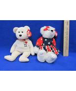 TY Beanie Babies Plush Original Stuffed Animal 1993 Franny 2003 New York... - $12.86