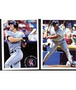 Baseball Cards -(2 Fleer Cards 1994) Sunoco - $2.95