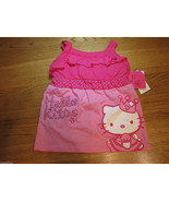 Girls Hello Kitty Sanrio HK53474 DLP doll pink Tank top shirt 4 youth su... - $5.87