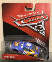 "Disney Pixar Cars 3 ""Piston Cup"" - Bobby Swift #19 Aka Octane Gain - Rare! - $6.88"