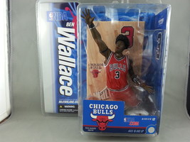 Mc Farlane Action Figure - Big Ben Wallace- NBA Series 12 - Chicago Bull... - $49.00