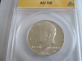 1964, Kennedy Half Dollar , ANACS , AU 58 - $19.00
