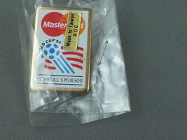 1994 World Cup of Soccer - Mastercard Sponsor Pin - $19.00