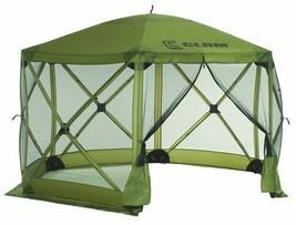 Gazebo Canopy Tent Shelter Shadow Camping Beach Patio Screen Sreened Gar... - $366.29