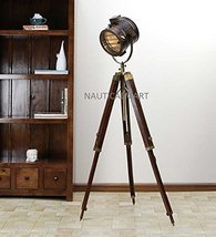 Nauticalmart Floor Standing Classical Antique Brown Sheesham Wood Tripod Floor L - $167.31