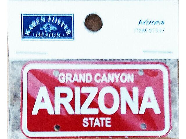 Karen Foster Design Arizona License Plate #01537