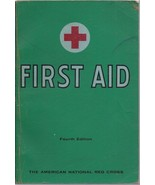 1957 American Red Cross First Aid Book 4th Edition - ₹1,218.30 INR