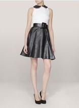 NEW  AUTH ALice Olivia Helga Scalloped Trim Dress $495 - $84.99