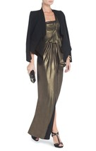 NEW  AUTH BCBG Max Azria Barbara One-Shoulder Evening Gown $348 - $99.99