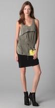 New 2012 100% AUTH Alexander Wang Draped Starter Colorblock Tank Dress $560 - $98.99