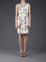 NEW  AUTH 3.1 Phillip Lim Black Sheer Floral Silk Dress $575 - $2.526,89 MXN