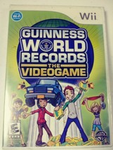 Nintendo Wii Guinness World Records The Video Game BRAND NEW FACTORY SEALED - $9.50