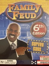 Family Feud 6th Home Edition Board Game Survey Says Steve Harvey -New- - £10.02 GBP