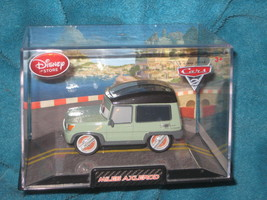 Disney Store Cars MILES AXELROD Brand New in Factory plastic case. - $17.59