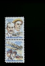 1978 31c Wright Brothers, Orville & Wilbur, Aviation Scott C91-92 Mint F... - $1.98