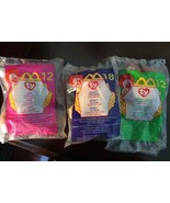 TY Animal Toys in Original Packaging - From McDonalds - Set of 3 - NEW - $17.82