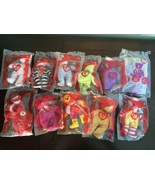 TY Bears Toys in Original Packaging - McDonald's - Set of 11 - NEW (25 y... - $54.45