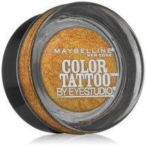Maybelline New York Eye Studio Color Tattoo Metal 24 Hour Cream Gel Eyes... - $4.49