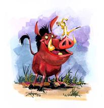 Timon and Pumbaa Cross Stitch Pattern***L@@K*** - $4.95