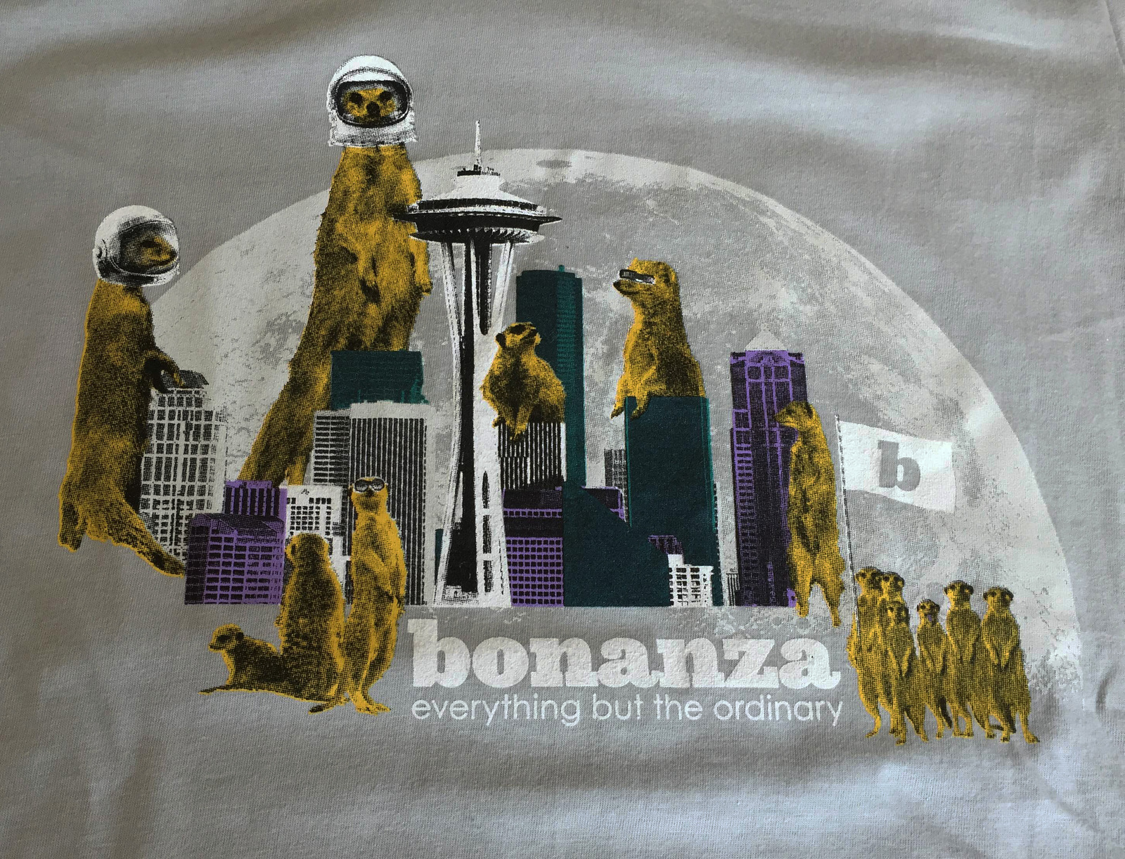 "Bonanza ""Mongoose Space Needle"" T-Shirt"