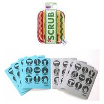 SKOY Products Bundle 2 Items Skoy Scrub 2 pk and 8 Pk Hardware Skoy Cloth - $22.45