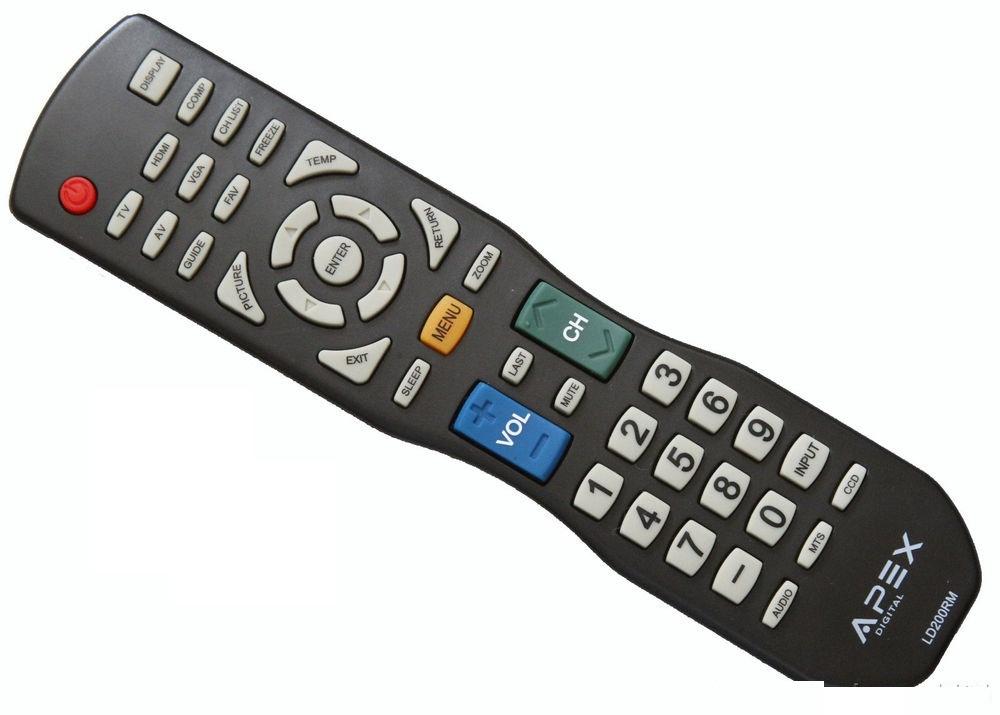 Apex remote 9 listings new apex ld4688 le3212 le3212d le4012 le4612 le3242 le3942 tv remote ld100rm 2099 fandeluxe Gallery