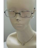 NEW Emilio Pucci Optical Eyeglass Frames RX Ready Wire Frame Black Onyx ... - $58.50
