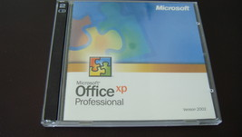 Microsoft Office XP Professional version 2002 - $65.00