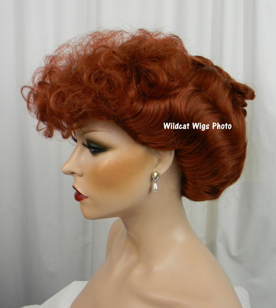 Lucy Wig .. I Love Lucy!  Gibson Girl .. Nice!!, used for sale  USA