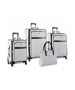 Vacation Luggage Set ~ Signature Spinner 4 Pc Weekend Travel Suitcase Se... - $386.04