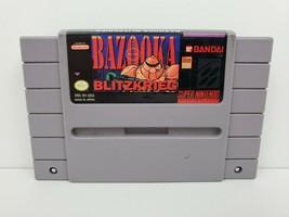 Bazooka Blitzkrieg Super Nintendo Entertainment System, 1992 Cartridge G... - $19.54