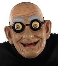 Gramps Googly Eye Mask Old Man Adult Bald Age Spots Wrinkles Glasses MR1... - $32.99