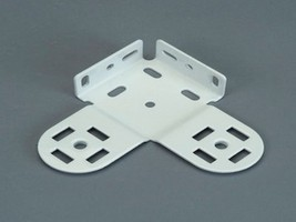1 PAIR: Rollease Universal Double Skyline Bracket 48mm, White (MPN#SLDB48W) - $14.99