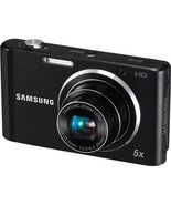 Samsung ST76 16MP 5X Digital Camera Black - Samsung EC-ST76ZZBPBUS - $77.22