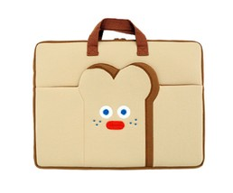 "Brunch Brother Laptop Case Bag Sleeve Pouch Briefcase for 15"" to 17"" (Toast)"