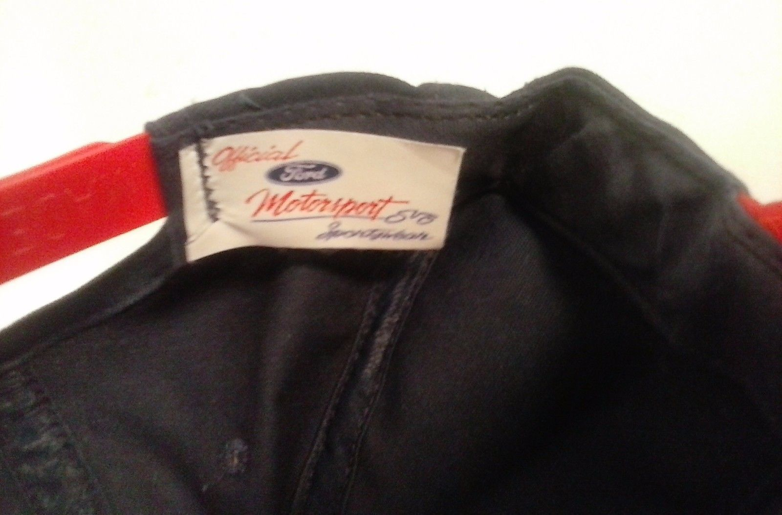 BLUE FORD RACING HAT CAP ADJUSTABLE AUTHENTIC FORD MOTORSPORTS PRODUCT