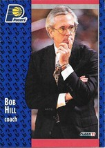 Bob Hill ~ 1991-92 Fleer #82 ~ Pacers - $0.05