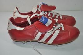Adidas Vintage 70's NOS Red 400 Slugger Baseball Cleats Shoes Size 7  Yu... - $50.62