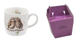 2 X Emballé wrendale Licence Official Mignon Hiboux Porcelaine Fine Chin... - $25.60
