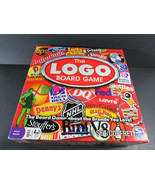 The Logo Board Game Trivia Party Game Brands Spin Master - $10.89